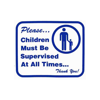 L104 Children Must Be Supervised