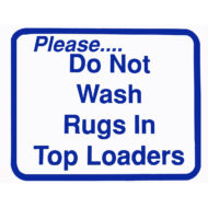 L114 Do Not Wash Rugs