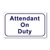 L323  Attendant On Duty