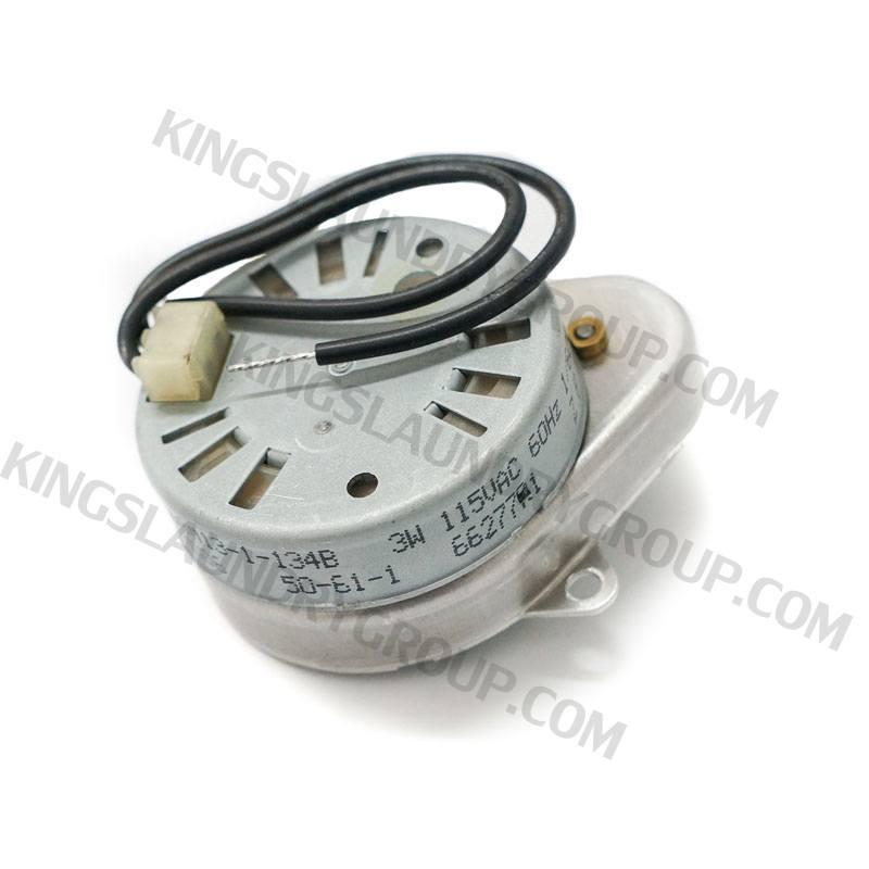 Kings Laundry Group | For # 50-61-1 Motor 120V, 60Hz, 1/60 rpm