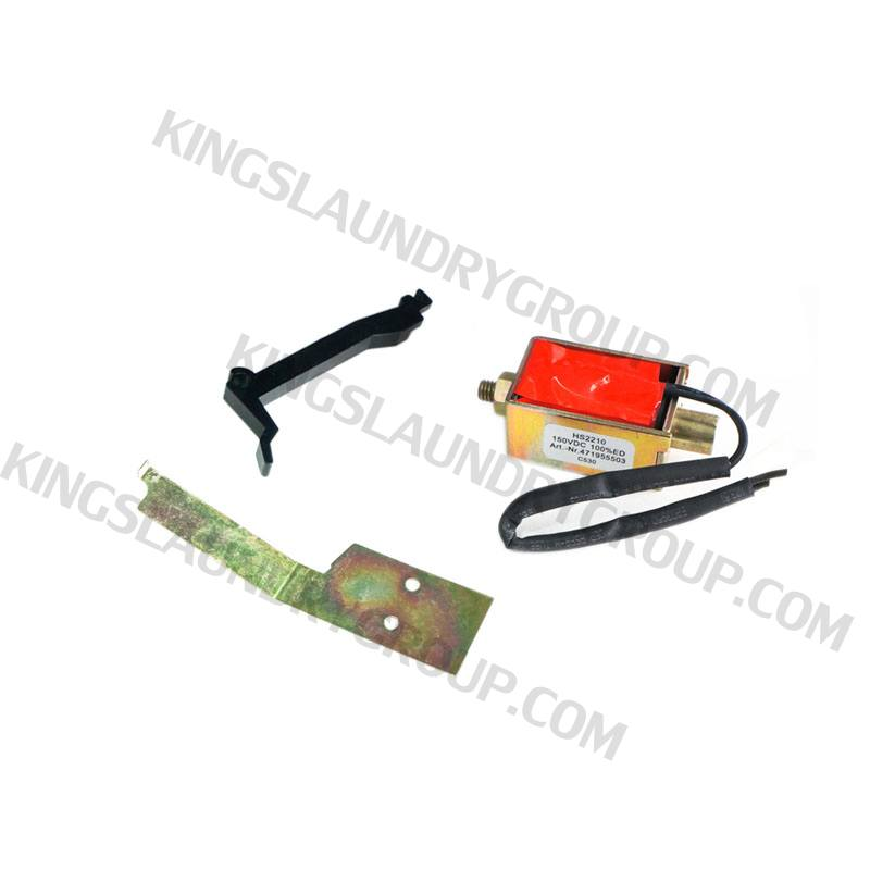 Wascomat # 990075 Door Lock Solenoid  sc 1 st  Kings Laundry Group & Kings Laundry Group | For # 990075 Door Lock Solenoid