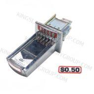 For # 27-0050 ($0.50 ) V5 Coin Slide