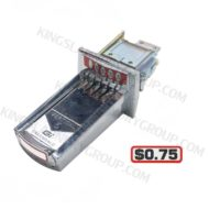 For # 27-0075 ($0.75 ) V5 Coin Slide
