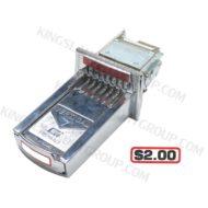 For # 21-16-008-200 ($2.00 ) V7 Coin Slide