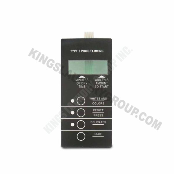 For # 9801-058-004 Membrane Switch