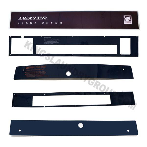 For # 9732-DL2-X30 Dexter Stack Dryer Reface Kit